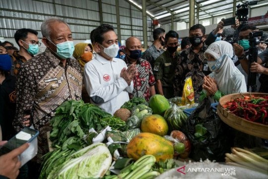 Kunjungan Menteri Perdagangan di Yogyakarta