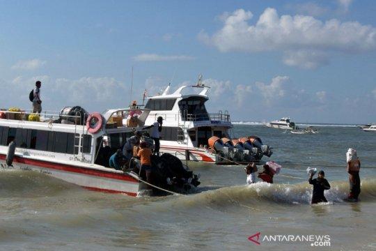 Penyeberangan ke Nusa Penida beroperasi terbatas
