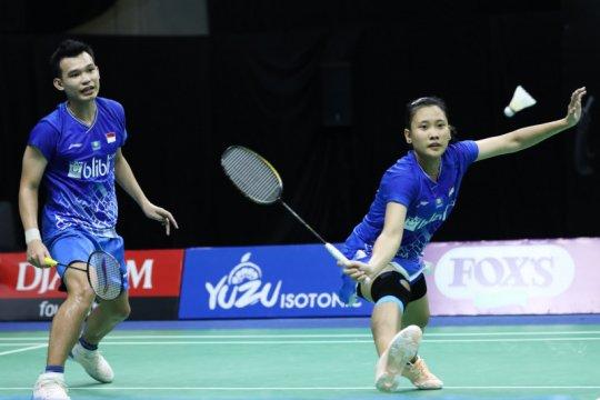 Turnamen internal PBSI, Rinov/Pitha mantap melaju ke semifinal