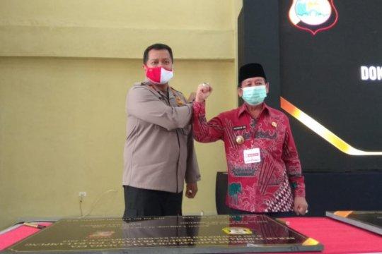 Polda Lampung terima hibah tiga gedung dari Pemkot Bandarlampung