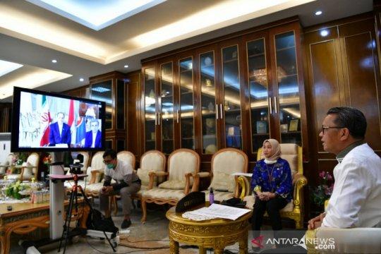 Gubernur Sulsel-Duta Besar Iran jajaki kerja sama penanganan COVID-19