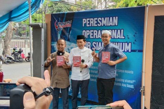Masyarakat Tanpa Riba bangun fasilitas air minum gratis
