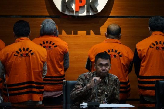 KPK sampaikan kronologi OTT Bupati dan Ketua DPRD Kutai Timur