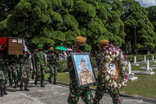Pemakaman Pelda Anumerta Rama Wahyudi