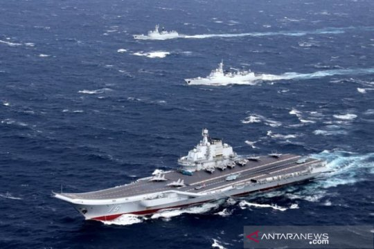 China tepis kritik AS soal latihan militer di Laut China Selatan