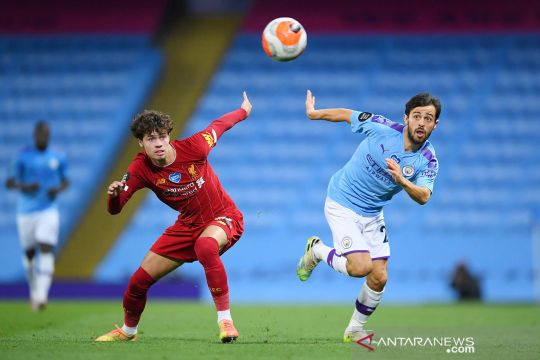 Manchester City hajar Liverpool dengan skor telak 4-0