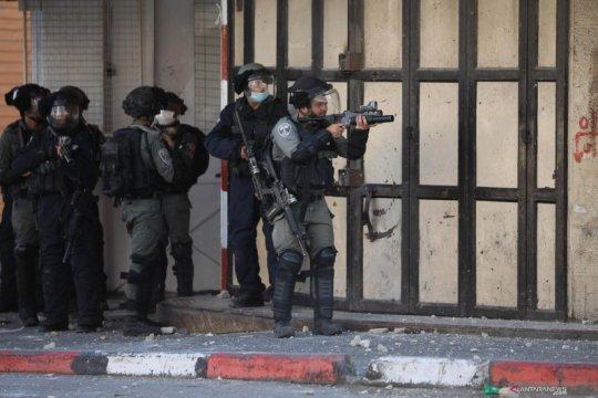 Tentara Israel dan demontran Palestina bentrok di Hebron