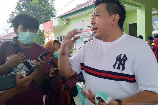 Penyebaran virus corona di Karawang masih terjadi saat AKB