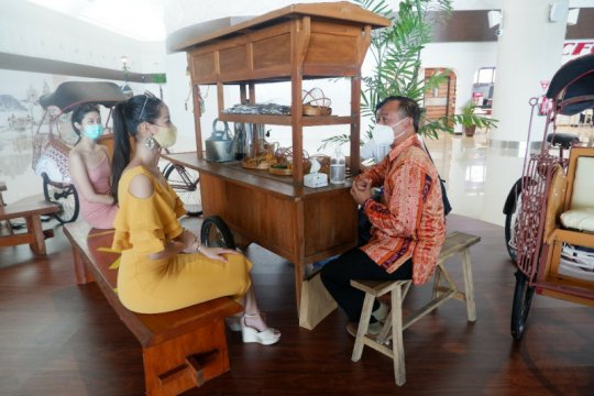 Putri Indonesia kagum kemegahan Bandara Internasional Yogyakarta