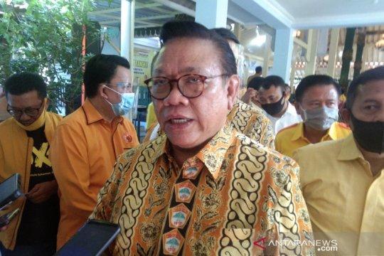 Agung Laksono apresiasi duet Airlangga-Erick Thohir tangani COVID-19