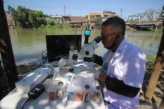 Penelitian Mikroplastik di sungai Surabaya