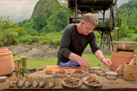 Sentuhan Gordon Ramsay jadikan masakan Minang kian mendunia