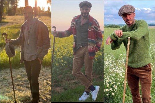 """Cottagecore"" tren fesyen pria Inggris saat ""lockdown"""