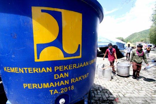 Kementerian PUPR salurkan air bersih untuk korban banjir Gorontalo