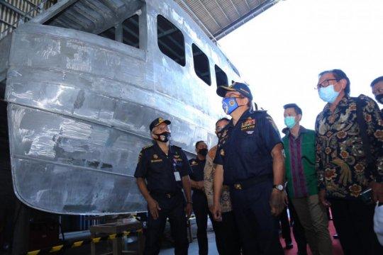 Kemenhub bangun tiga kapal patroli untuk jaga keselamatan pelayaran