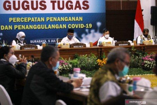 """Pantau penanganan COVID-19 Jatim, Menkes """"ngantor"""" di Surabaya"""