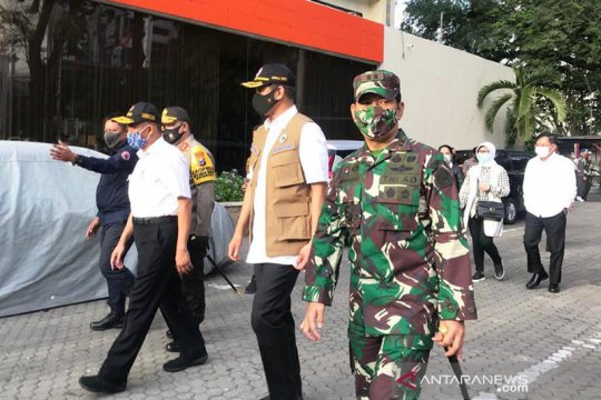 Gugus Tugas Pusat siapkan hotel di Surabaya tempat istirahat nakes