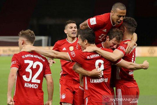 Bayern menangi gelar keduanya musim ini setelah juarai Piala Jerman