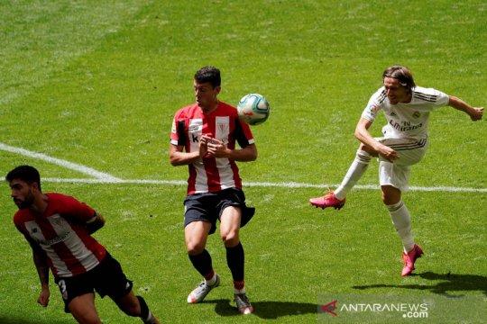 Real Madrid kalahkan Athletic Bilbao 1-0