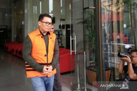 Bekas dirut Perindo Risyanto Suanda dieksekusi ke LP Sukamiskin