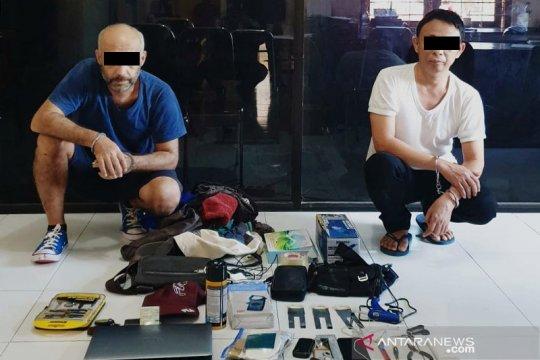 Polisi tangkap dua pelaku skimming di Badung-Bali