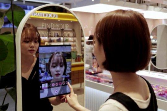Perusahaan Korsel pakai cermin berteknologi AR untuk coba kosmetik