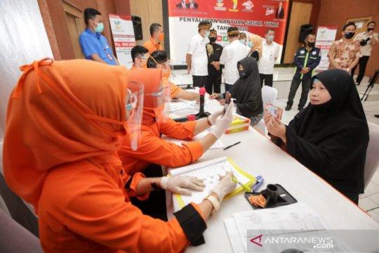 Kemensos mulai cairkan BST tahap III ke 99.575 KPM di Bandung