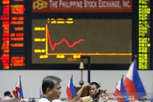 Saham Filipina kembali ditutup merosot, indeks PSE anjlok 1,51 persen