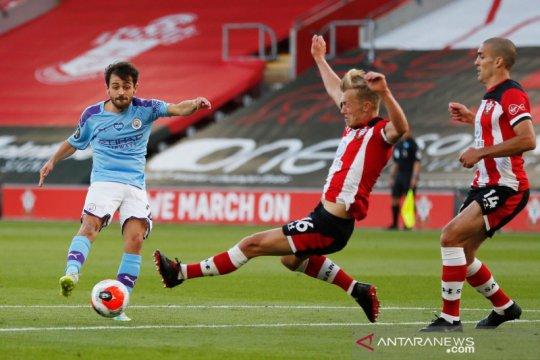 Manchester City tersungkur di markas Southampton