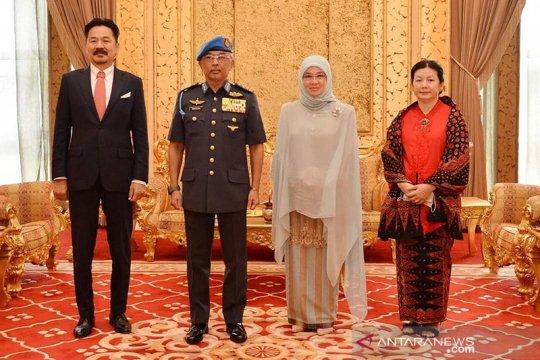 Dubes Rusdi Kirana pamit ke Raja Malaysia