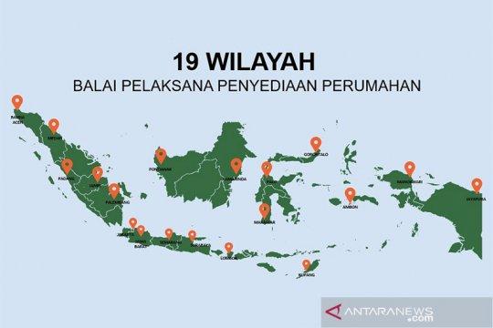 Pemerintah bentuk Balai Penyedia Perumahan dari Aceh sampai Papua