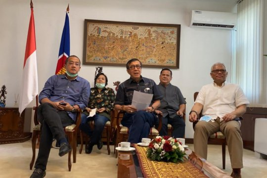 Webinar Menkumham, menyapa 109 diaspora Indonesia di Serbia