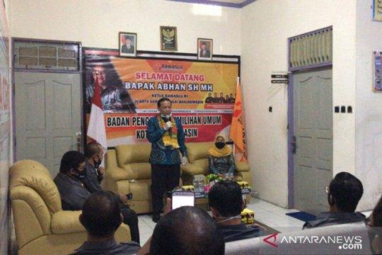 Ketua Bawaslu RI ingatkan petahana tak politisasi bantuan COVID-19