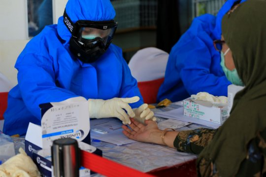 49 peserta UTBK SBMPTN di Surabaya dinyatakan reaktif