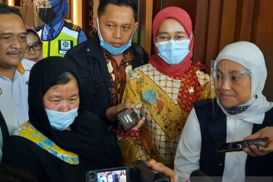 Jemput Etty, Menaker tegaskan terus advokasi perlindungan TKI