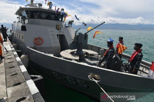 Kapal Perang KAL Talise tiba di Palu untuk perkuat pertahanan perairan Sulawesi