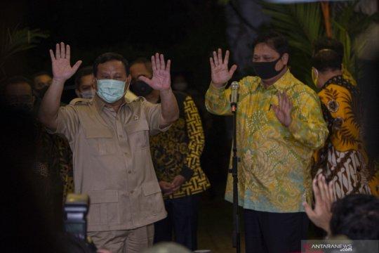 Prabowo-Airlangga ingin Pilkada serentak yang semarak tapi sejuk