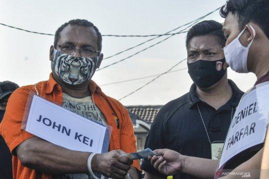 Polda Metro Jaya serahkan 22 anak buah John Kei ke kejaksaan