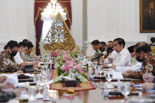 Presiden Jokowi ingatkan target penurunan Gas Rumah Kaca Indonesia