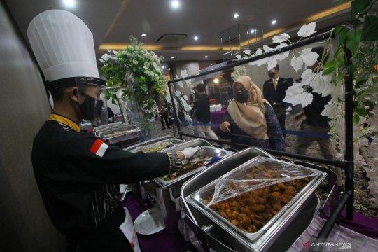 PHRI Pontianak gembira, resepsi pernikahan mulai diizinkan di hotel