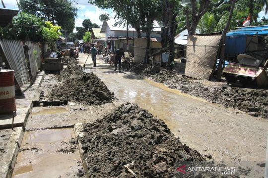 Banjir di Gorontalo mulai surut