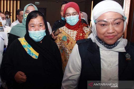 Lolos dari hukuman mati di Arab Saudi, pekerja migran Indonesia tiba di tanah air