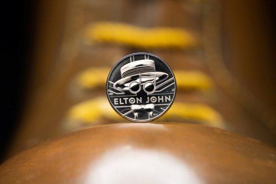 Royal Mint buat koin khusus Elton John