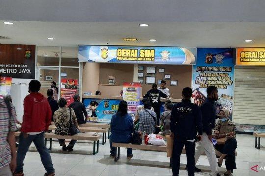 SIM Keliling sambangi mall hingga kampus di Jakarta