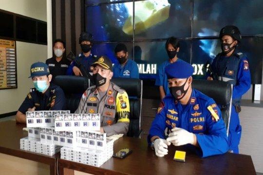 Polisi gagalkan penyelundupan 24 ribu bungkus rokok ilegal di Karimun