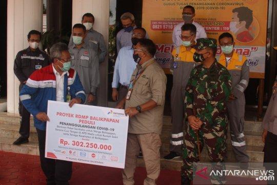 Kilang Pertamina Balikpapan aktifkan COVID Ranger lawan pandemi corona