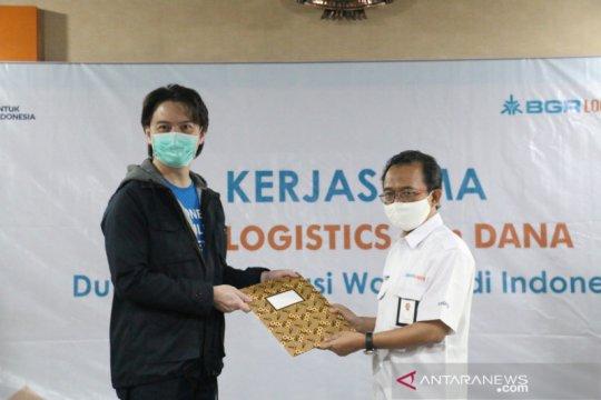 BGR Logistics gandeng aplikasi DANA bantu UMKM hadapi COVID-19