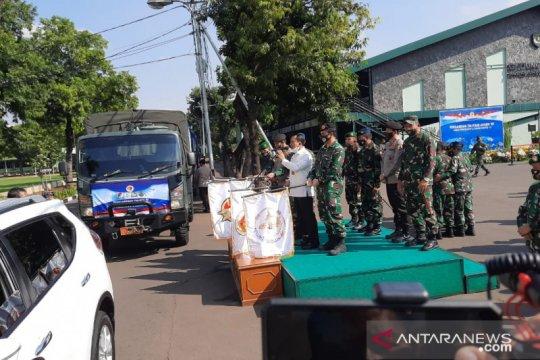 Alumni Akabri 89 salurkan 12.000 sembako untuk warga terdampak corona
