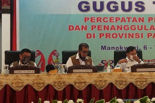 Doni Monardo: Papua Barat cukup berhasil kendalikan COVID-19