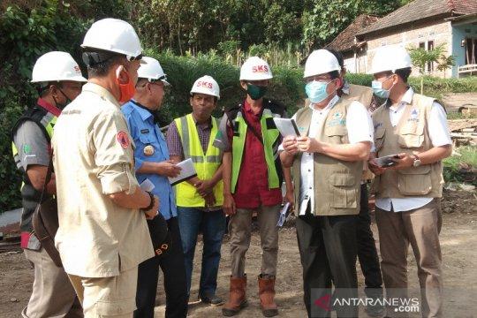 BNPB tinjau proyek pembangunan sejumlah jembatan di Bantul